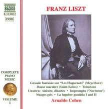 Franz Liszt (1811-1886): Klavierwerke Vol.1, CD