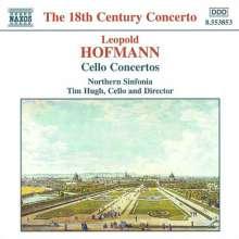 Leopold Hofmann (1738-1793): 4 Cellokonzerte, CD