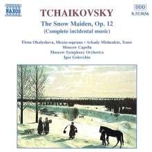 Peter Iljitsch Tschaikowsky (1840-1893): Schneeflöckchen - Bühnenmusik op.12, CD