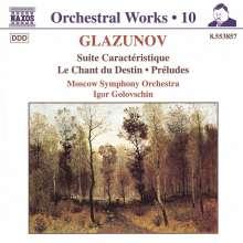Alexander Glasunow (1865-1936): Preludes op.85 Nr.1 & 2, CD