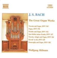 Johann Sebastian Bach (1685-1750): Toccaten & Fugen BWV 564 & 565, CD