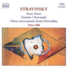Igor Strawinsky (1882-1971): Klavierwerke, CD