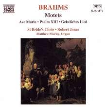 Johannes Brahms (1833-1897): Fest-und Gedenksprüche op.109, CD