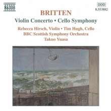 Benjamin Britten (1913-1976): Symphonie für Cello & Orchester op.68, CD