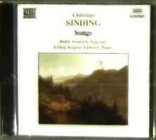 Christian Sinding (1856-1941): Lieder, CD