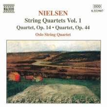Carl Nielsen (1865-1931): Sämtliche Streichquartette Vol.1, CD