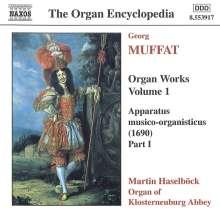 Georg Muffat (1653-1704): Orgelwerke Vol.1, CD