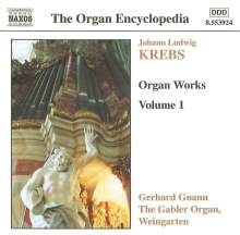 Johann Ludwig Krebs (1713-1780): Orgelwerke Vol.1, CD