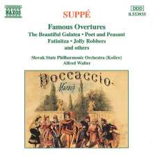 Franz von Suppe (1819-1895): Ouvertüren, CD