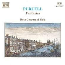 Henry Purcell (1659-1695): Fantasien f.3-7 Violen da Gamba, CD