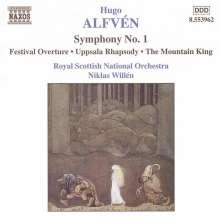 Hugo Alfven (1872-1960): Symphonie Nr.1, CD