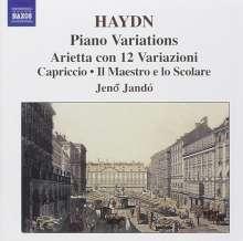 Joseph Haydn (1732-1809): Klaviervariationen, CD