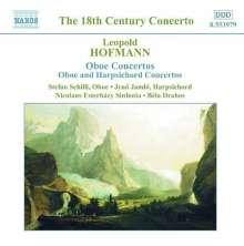 Leopold Hofmann (1738-1793): Oboenkonzerte in C & G, CD