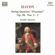 Joseph Haydn (1732-1809): Streichquartette Nr.44-46 (op.50 Nr.1-3), CD