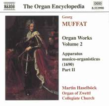 Georg Muffat (1653-1704): Orgelwerke Vol.2, CD