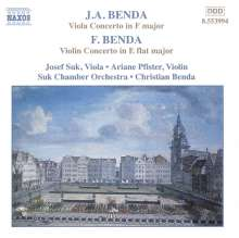 Georg Anton Benda (1722-1795): Violakonzert in F, CD