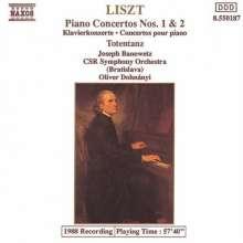 Franz Liszt (1811-1886): Klavierkonzerte 1+2, CD