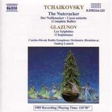 Peter Iljitsch Tschaikowsky (1840-1893): The Nutcracker/Les Sylp, 2 CDs
