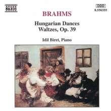Johannes Brahms (1833-1897): Walzer op.39 Nr.1-16, CD