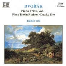 Antonin Dvorak (1841-1904): Klaviertrios Nr.3 & 4 (op.65 & 90), CD