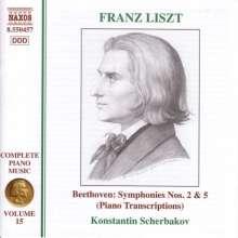 Franz Liszt (1811-1886): Klavierwerke Vol.15, CD
