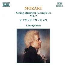 Wolfgang Amadeus Mozart (1756-1791): Streichquartette Nr.10,11,15, CD