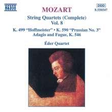 Wolfgang Amadeus Mozart (1756-1791): Streichquartette Nr.20 & 23, CD