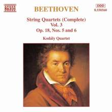 Ludwig van Beethoven (1770-1827): Streichquartette Nr.5 & 6, CD