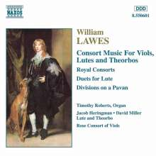 William Lawes (1602-1645): Consortmusik, CD
