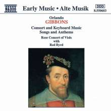 Orlando Gibbons (1583-1625): Consort Music, CD