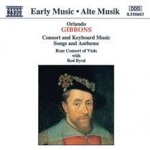 Orlando Gibbons (1583-1625): Consort Music, CD