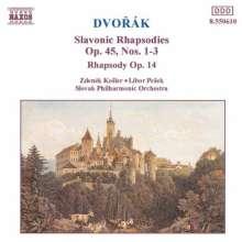 Slovak Po/Kosler/Pesek: Dvorak;slavonic Rhapsod, CD