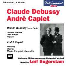 Andre Caplet (1878-1925): Orchesterwerke, CD