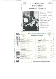 The Maiden's Prayer, CD