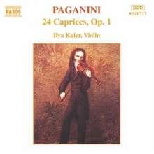 Niccolo Paganini (1782-1840): 24 Caprices Opus 1, CD