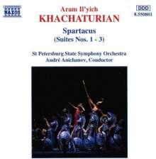 Aram Khachaturian (1903-1978): Spartacus-Suiten Nr.1-3, CD