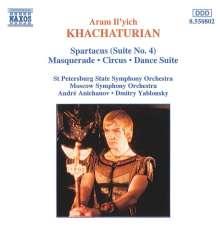 Aram Khachaturian (1903-1978): Masquerade-Suite, CD