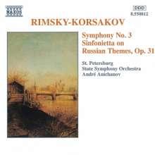 Nikolai Rimsky-Korssakoff (1844-1908): Symphonie Nr.3, CD