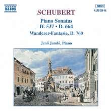 Franz Schubert (1797-1828): Klaviersonaten D.537 & D.664, CD
