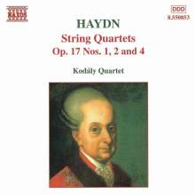 Joseph Haydn (1732-1809): Streichquartette Nr.25,26,28 (op.17 Nr.1,2,4), CD
