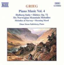 Edvard Grieg (1843-1907): Klavierwerke Vol.4, CD