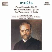 Antonin Dvorak (1841-1904): Klavierkonzert op.33, CD