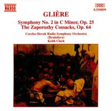 Reinhold Gliere (1875-1956): Symphonie Nr.2, CD