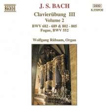 Johann Sebastian Bach (1685-1750): Choräle BWV 682-689, CD