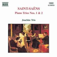 Camille Saint-Saens (1835-1921): Klaviertrios Nr.1 & 2 (opp.18 & 92), CD