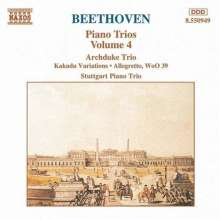 Ludwig van Beethoven (1770-1827): Piano Works 4, CD