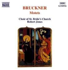 Anton Bruckner (1824-1896): 15 lateinische Motetten, CD