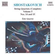 Dimitri Schostakowitsch (1906-1975): Streichquartette Nr.14 & 15, CD
