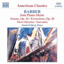 Samuel Barber (1910-1981): Klaviersonate op.26, CD