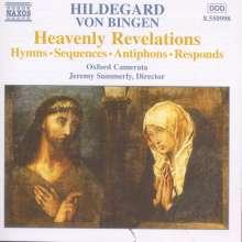 Hildegard von Bingen (1098-1179): Hymnen,Sequenzen,Antiphone,Responsorien, CD